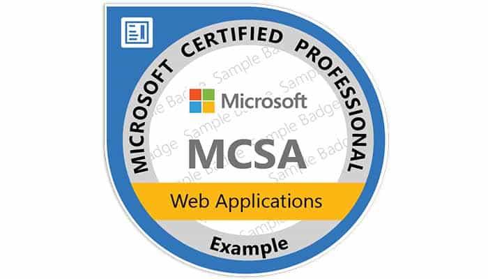 Mcsa Web Applications It Training