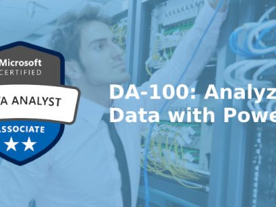 DA-100: Analyzing Data with Power BI – Official Microsoft Course